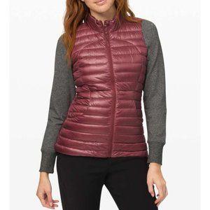 Lulu Pack It Down Vest *Shine Chianti Puffer Warm